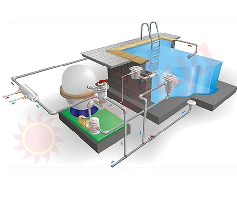 swimming pool filtrations system